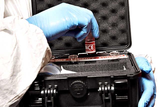 Koffer mit Schaumstoffeinlage für die Medizintechnik